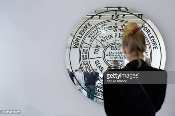 Visitors to the newly opened Bauhaus Museum are reflected in the statutes of the Weimar State Bauhaus The new Bauhaus Museum Weimar opened on Friday...