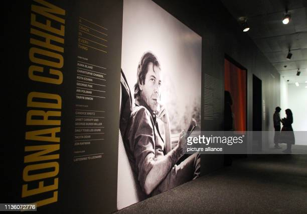 Participants of the Press Preview will view the works in the LeonhardCohen exhibition Around three years after the death of Leonard Cohen the Jewish...