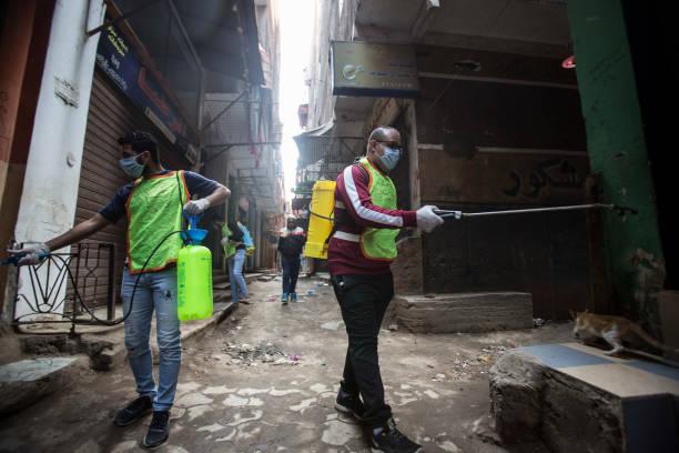 EGY: Coronavirus Outbreak In Egypt