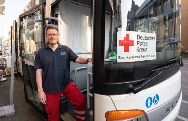 DEU: Coronavirus - Frankfurt am Main - Test Mobile