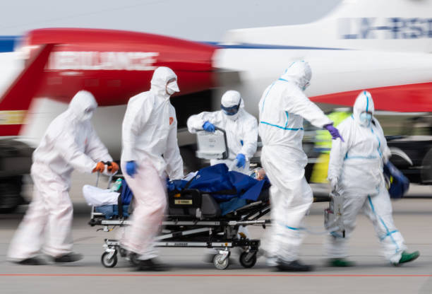 DEU: Coronavirus - French Patient Airlifted To Dresden