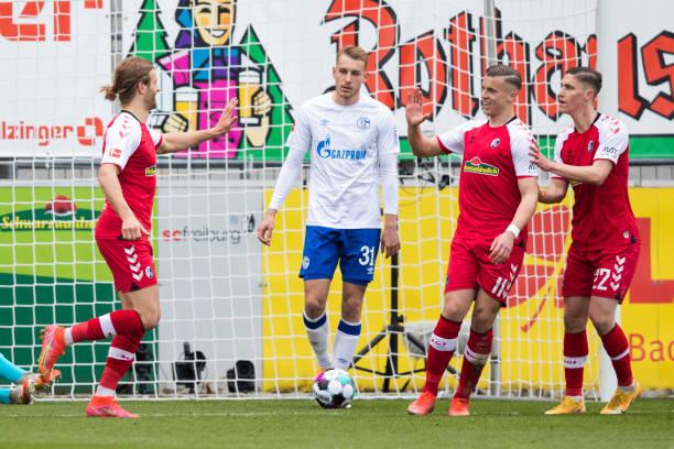 DEU: Bundesliga SC Freiburg - FC Schalke 04