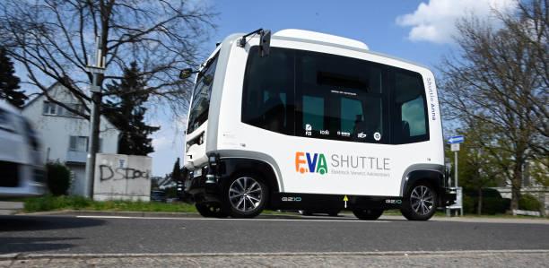 DEU: Karlsruhe Tests Autonomous Buses