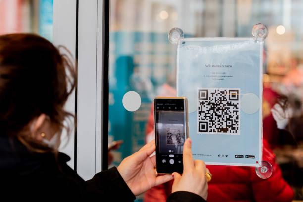 DEU: Coronavirus - Shopping With Luca App In Berlin