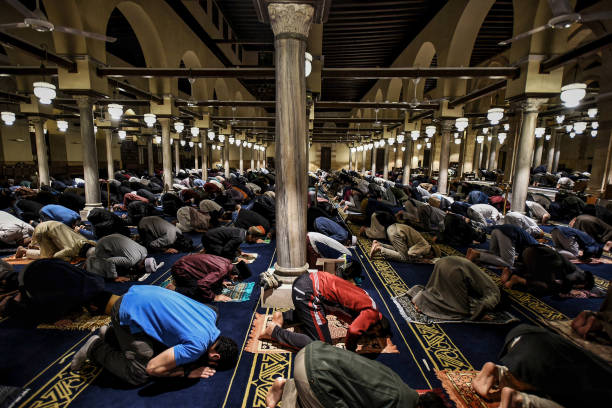 EGY: Ramadan Tarawih Prayers In Egypt