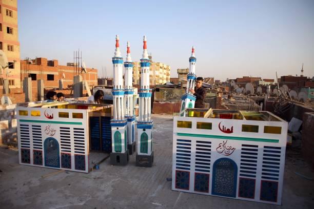 EGY: Ramadan Decorations In Egypt