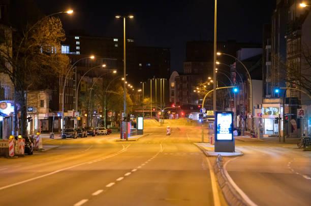 DEU: Coronavirus - Nightly Curfew In Hamburg