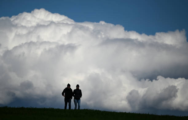 DEU: Clouds Near Frankfurt