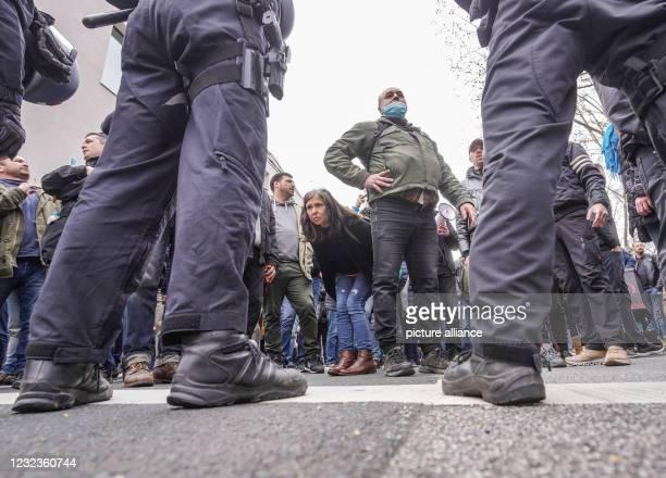 DEU: Protests Against Corona Measures
