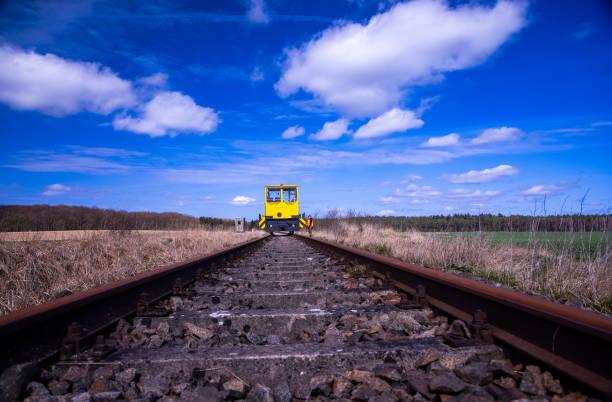 DEU: Old Construction Train On Trolley Line