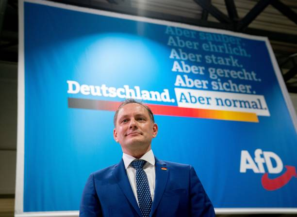 DEU: Presentation Of The AfD Parliamentary Election Campaign
