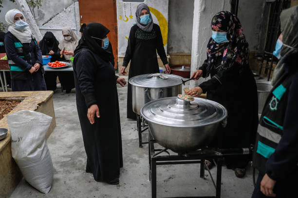 SYR: Food Distribution For Ramadan In Idlib