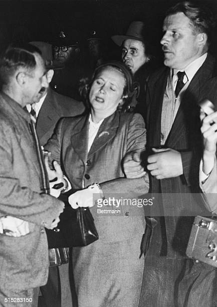 April 21 1954Sydney Australia Mrs Evokiya Petrov wife of the Soviet agent who broke with the Reds last week and turned over details of a Red spy ring...
