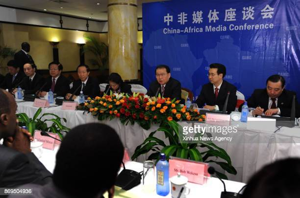 NAIROBI April 22 2011 Li Changchun a member of the Standing Committee of the Communist Party of China Central Committee's Political Bureau addresses...