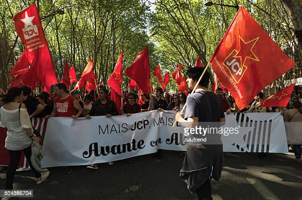 Celebraciones en Lisboa el 25 de abril