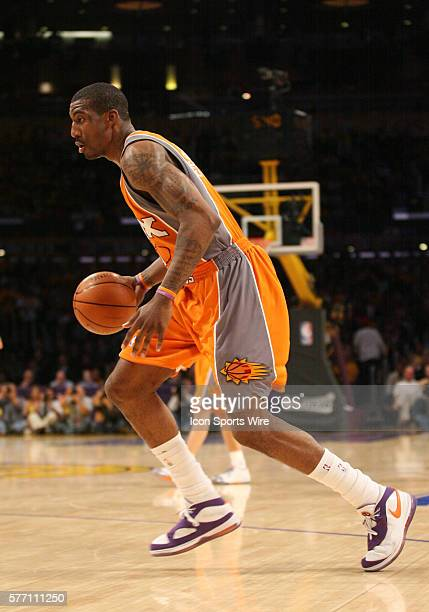 April 26 2007 Amare Stoudemire of the Phoenix Suns during the game The Los Angeles Lakers defeated the Phoenix Suns by the final score of 9589 in...