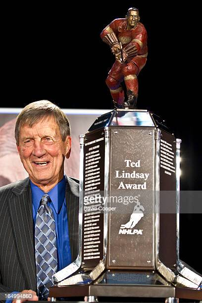 April 29 2010 LINDSAY The NHL Players' Association has decided to rename the Lester B Pearson Award in honour of former Detroit Red Wings great Ted...