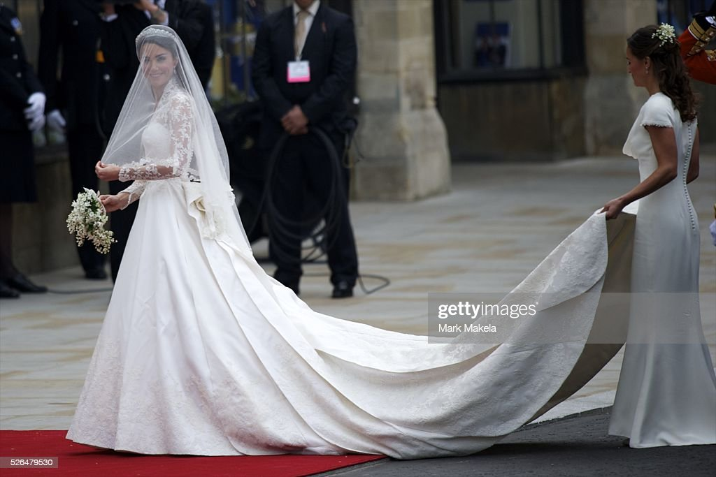 Prince William and Kate Middleton royal wedding : News Photo