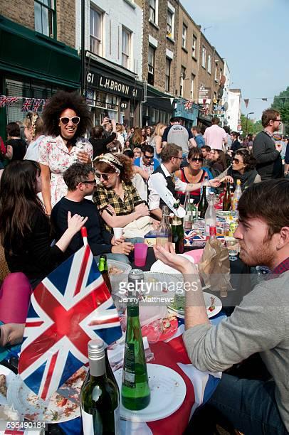 April 29th 2011 Royal Wedding Wilton Way Hackney street party