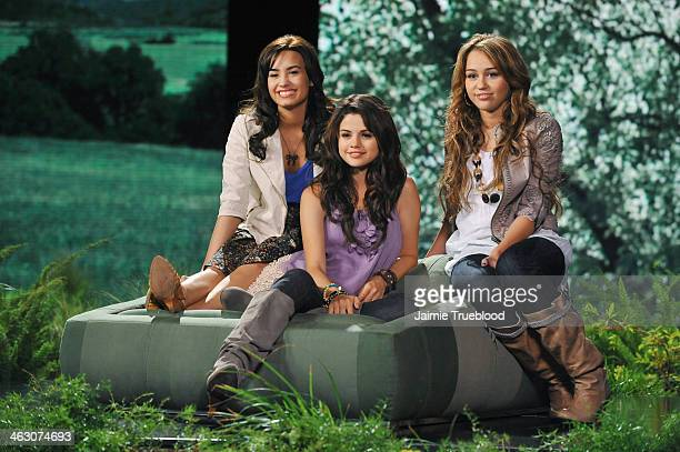 PROJECT GREEN April 4 2009 Disney stars Miley Cyrus Selena Gomez the Jonas Brothers and Demi Lovato are among the 29 young stars participating in...