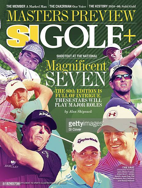 April 4 2016 Sports Illustrated Golf Plus Cover Masters Preview Rickie Fowler at WGCCadillac Championship at Trump National Doral Blue Monster Course...