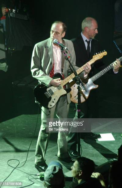 April 4: MANDATORY CREDIT Bill Tompkins/Getty Images Mick Jones of The Clash performs with his new band Carbon Silicon at Fillmore East in New York...