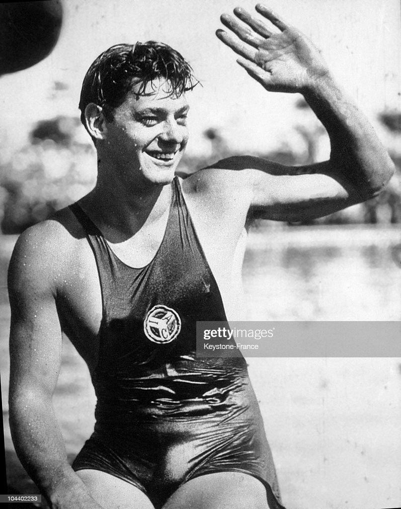Johnny Weissmuller, 1927 : News Photo