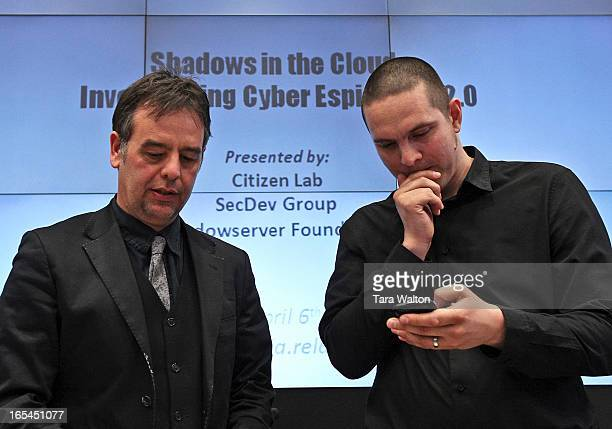 April 5 2010CYBER SECURITY REPORTUniversity of Toronto researchers Ronald Deibert and Nart Villeneuve who discovered the vast electronic spying...