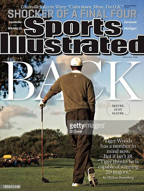 Golf Farmers Insurance Open Scenic view from rear of Tiger Woods during Sunday play at Torrey Pines GC Cover La Jolla CA CREDIT Robert Beck