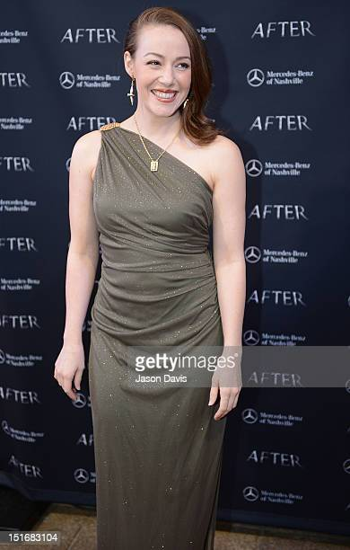 April Billingsley attends the premiere of 'After' at the Carmike Thoroughbred 20 theater on September 9 2012 in Franklin Tennessee