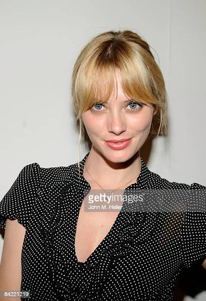 April Bowlby attends the FirstEver screening of 'The Slammin' Salmon' hosted by Broken Lizard on January 8 2009 at the Westwood Majestic Crest...