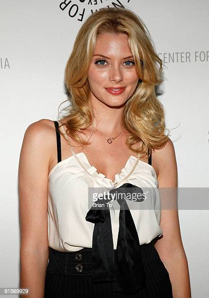 April Bowlby attends The Paley Center For Media Presents 'Drop Dead Diva Season One Finale' on October 7 2009 in Beverly Hills California