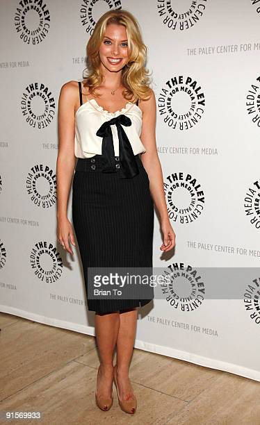 April Bowlby attends The Paley Center For Media Presents Drop Dead Diva Season One Finale on October 7 2009 in Beverly Hills California