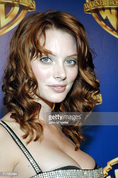 April Bowlby attends the Warner Brothers Television Emmy Party at Cicada on August 27 2006 in Los Angeles California