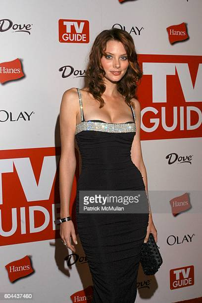 April Bowlby attends TV Guide Emmy After Party at Social on August 27 2006