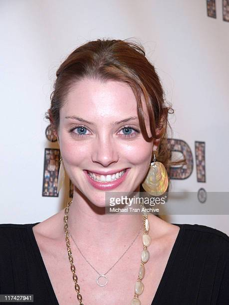 April Bowlby during 2006 iPOP Awards Backstage at Century Plaza Hotel Hotel in Century City California United States