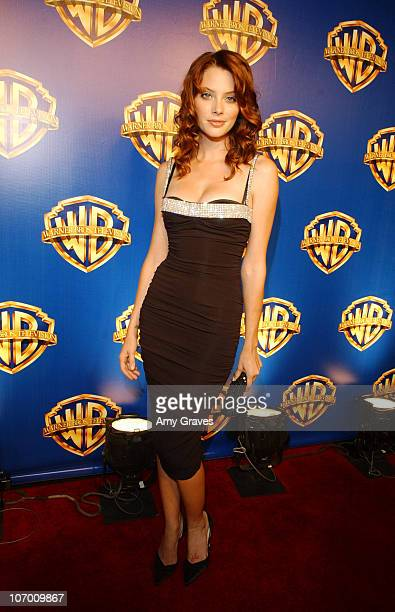 April Bowlby during 58th Annual Primetime Emmy Awards Warner Bros Television Party at Cicada in Los Angeles California United States