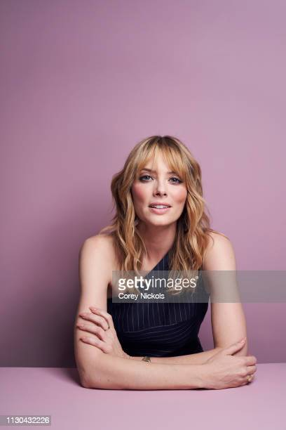 April Bowlby of DC Universe's Doom Patrol poses for a portrait during the 2019 Winter TCA at The Langham Huntington Pasadena on February 9 2019 in...