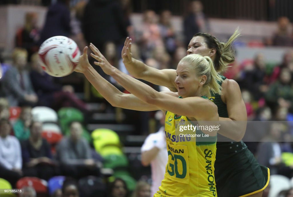 South Africa v Australia - Netball Quad Series: Vitality Netball International