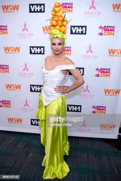 April Carrion attends the 4th Annual RuPaul's DragCon at Los Angeles Convention Center on May 13 2018 in Los Angeles California