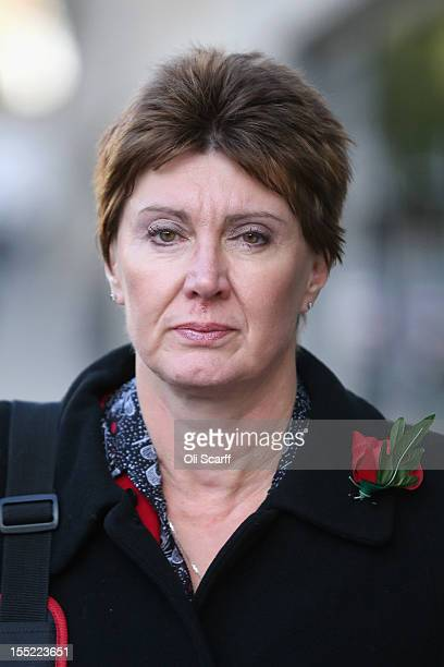 April Casburn, the former head of Scotland Yard's National Terrorist Financial Investigation Unit, leaves the Old Bailey after appearing before the...