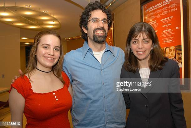April Degideo from the film with the film's Director Jeff Blitz and Nancy Abraham of HBO