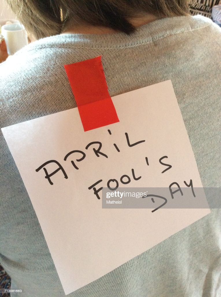 April Fool's Day! : Stock Photo