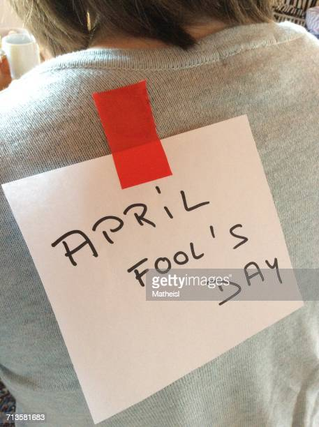 April Fool's Day!