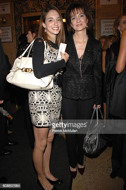 April Giangeruso and Kathy Giangeruso attend AMERICAN BALLET THEATRE 2007 Fall Gala at City Center Mandarin Oriental Hotel on October 23 2007 in New...