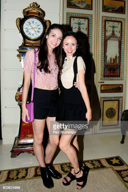 April Giangeruso and Skylar Brandt attend Youth America Grand Prix Jewels 50th Anniversary Celebration at Home of Susan Gutfreund on July 21 2017 in...