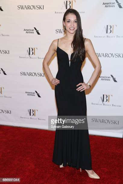 April Giangeruso attends American Ballet Theatre Spring 2017 Gala at David H Koch Theater at Lincoln Center on May 22 2017 in New York City