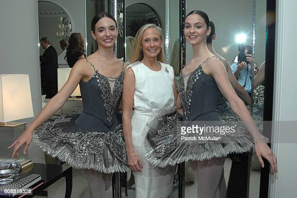 April Giangeruso Karen LeFrak and Jaime Hickey attend AMERICAN BALLET THEATRE'S Dinner with Dancers at The homes of Julia and David Koch on October 1...
