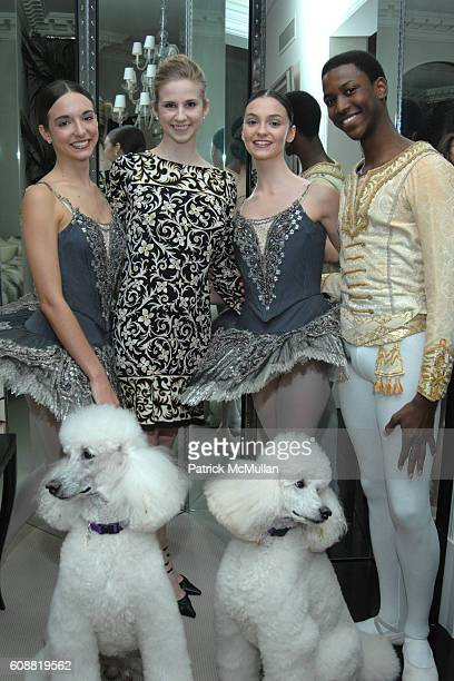 April Giangeruso Michele Wiles Jaime Hickey and Calvin Royal attend AMERICAN BALLET THEATRE'S Dinner with Dancers at The homes of Julia and David...