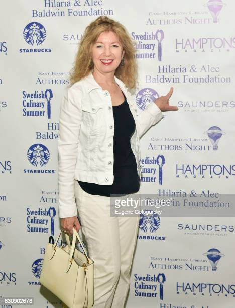 April Gornik attends Authors Night 2017 At The East Hampton Library at The East Hampton Library on August 12 2017 in East Hampton New York